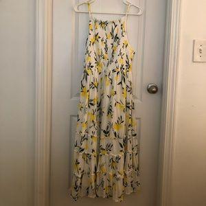 Lemon print dress from Torrid